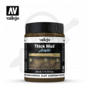 Vallejo 26807 Weathering Effects Thick Mud 200 ml. European Mud