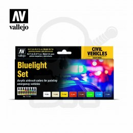 Vallejo 71154 Zestaw Model Air Bluelight Set