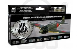 Vallejo 71169 Zestaw Model Air War Imperial Japanese Navy (IJN) Colors Pre-War to 1945