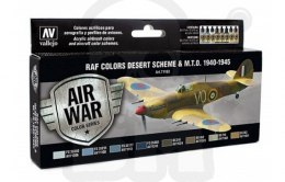 Vallejo 71163 Zestaw Model Air War WWII RAF Desert
