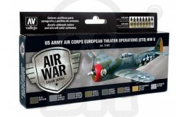 Vallejo 71182 Zestaw Model Air War US Army Air Corps Colors (ETO) WWII