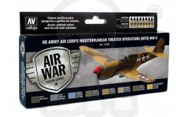 Vallejo 71183 Zestaw Model Air War US Army Air Corps Colors (MTO) WWII