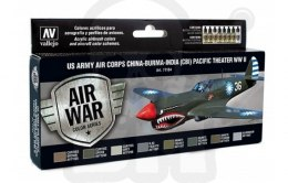 Vallejo 71184 Zestaw Model Air War US Army Air Corps Colors (CBI) Pacific Theater WWII