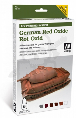 Vallejo 78411 AFV Painting System: German Red Oxide