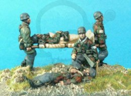 FJ Casualty set inc stretcher bearer