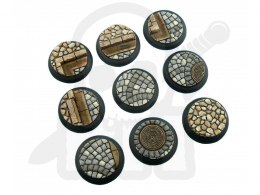 Cobblestone Bases, WRound 30mm - 5 pcs
