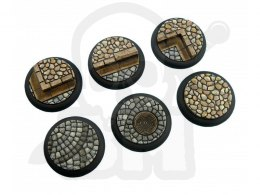 Cobblestone Bases, WRound 40mm - 2 pcs