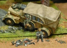 Vehicle casualty set - martwi żołnierze 1:72