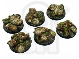 Forest Bases, Round 40mm - 2 pcs